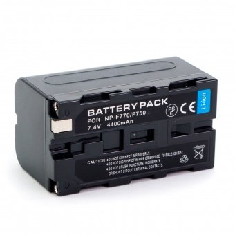 Набор аккумуляторов для кольцевых ламп NP-F750