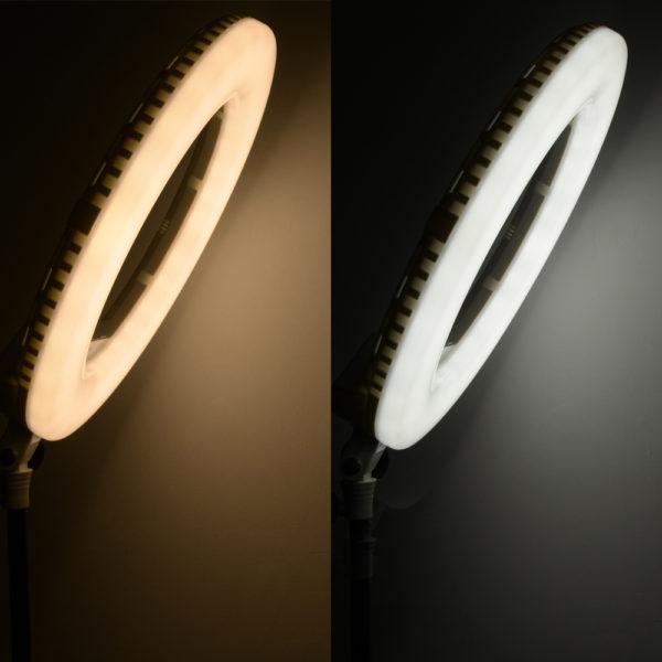 Лампа со штативом OKIRA LED RING AX 480 E LED 240(монитор/пульт)