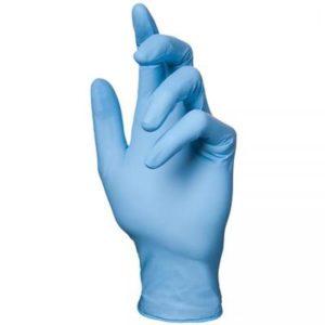 Перчатки одноразовые нитриловые OKIRA голубые (100 шт/уп)