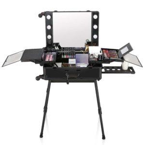 Мобильная студия визажиста LC 004 (чёрная)