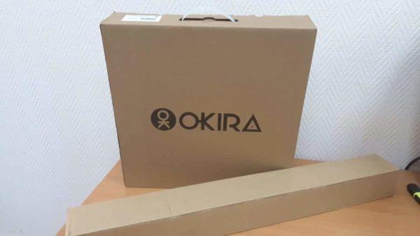 Лампа со штативом кольцевая OKIRA LED RING DAR 240 (35см)