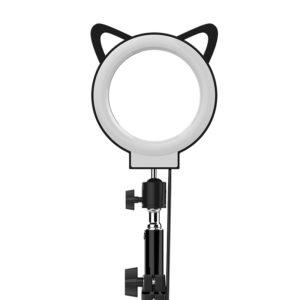 Кольцевая настольная лампа OKIRA LED RING CAT 72 (13см)