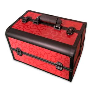 Кейс для косметики CWB7350 черный с красным