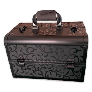 Кейс для косметики CWB7350 черный с узором