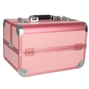 Бьюти-кейс для косметики розовый CWB8340
