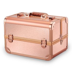 Кейс для косметики CWB7350 розовое золото
