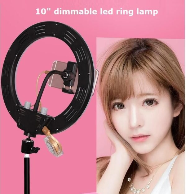 Кольцевая лампа OKIRA LED RING 100 (26 сантиметров)