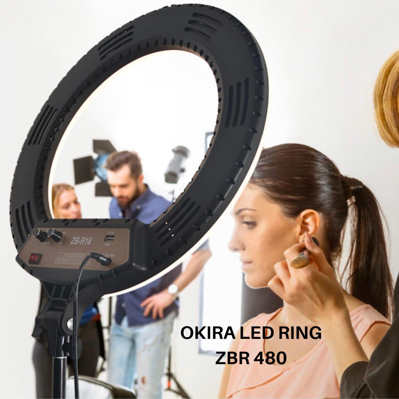 🔘Кольцевая лампа OKIRA LED RING ZBR 480