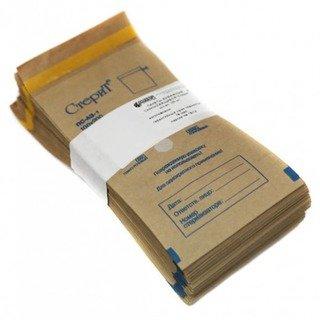 Крафт-пакеты для стерилизации с индикатором 100х200 мм 100шт.