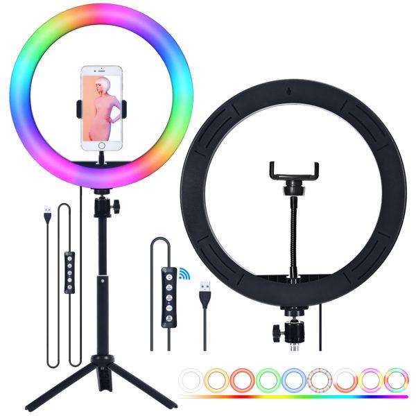 Кольцевая лампа OKIRA LED RING MJ 26 RGB