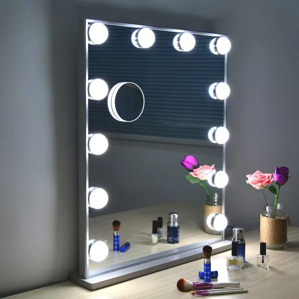 Гримерное зеркало L606V12 (белое)
