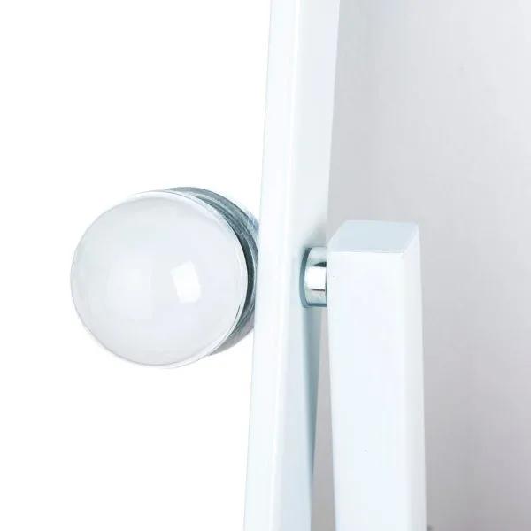Гримерное зеркало  L611 (белое)