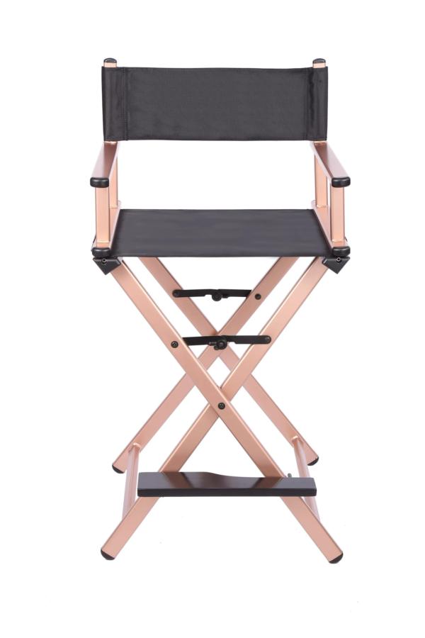 Разборный стул визажиста  (золотой)