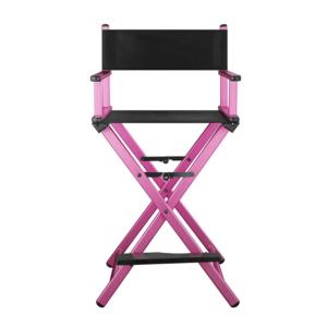 Разборный стул визажиста  (розовый)