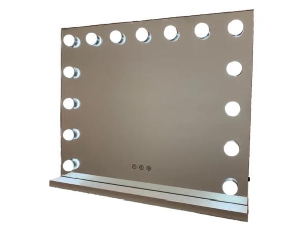 Гримерное зеркало DP357 (белый)