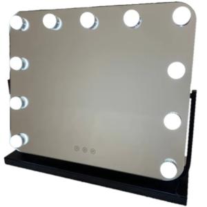 Гримерное зеркало   DP218 (черное)