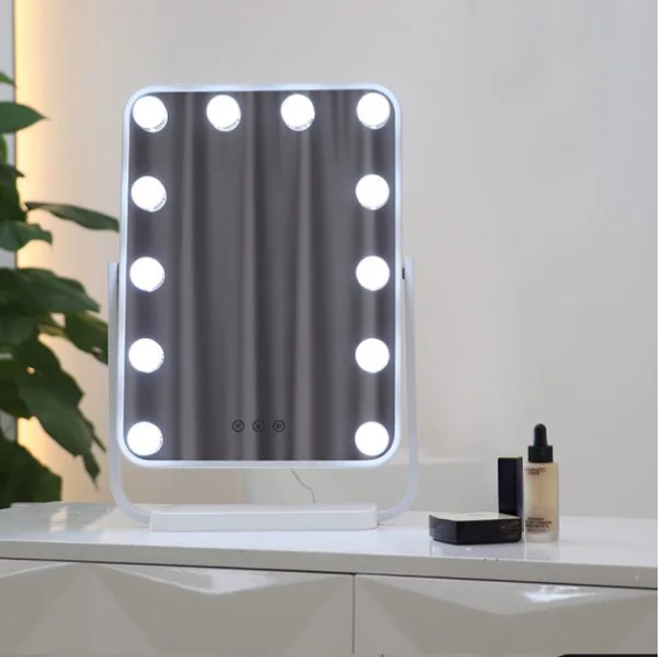 Гримерное зеркало DP330 А (белое)