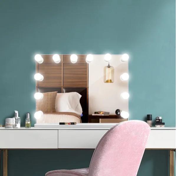 Гримерное зеркало  DP315-А (белый)
